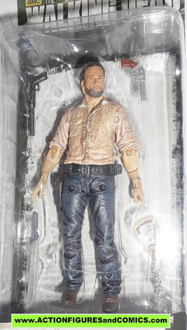 The Walking Dead RICK GRIMES series 8 2014 mcfarlane toys moc mip
