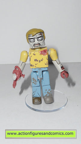 minimates GEEK ZOMBIE the walking dead action figures amc tv show