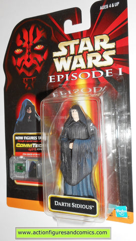 star wars action figures DARTH SIDOUS episode I 1999 moc