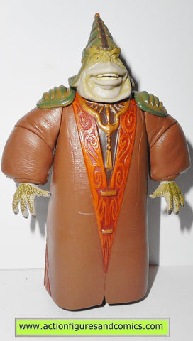 star wars action figures BOSS NASS gungan sacred place power of the jedi potj 2000 2001