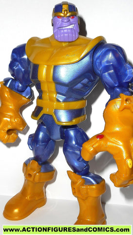 Marvel Super Hero Mashers THANOS infinity guantlet 7 inch universe 2014 action figure avengers