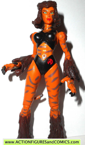 AVENGERS united they stand toy biz TIGRA 1999 Animated action figure fig