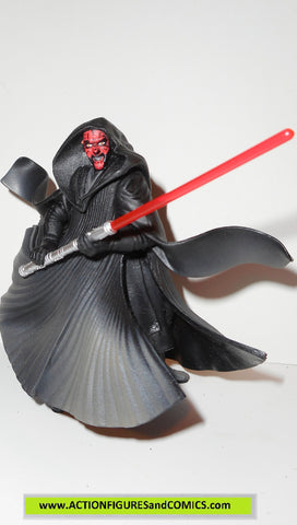 star wars action figures DARTH MAUL tatooine 1999 episode 1