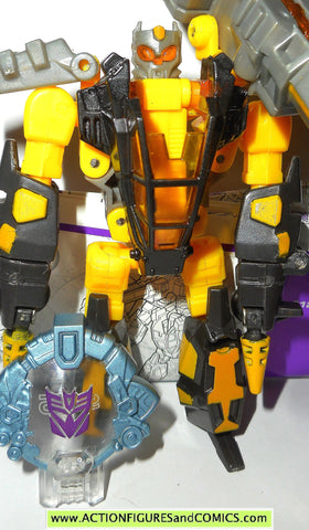 transformers cybertron SCRAP METAL yellow 2006 4 inch scout class action figure