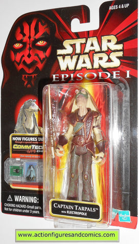 star wars action figures CAPTAIN TARPALS GUNGAN episode I 1 1999 moc