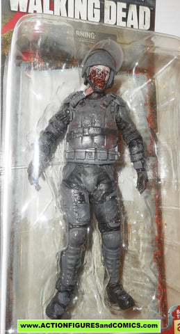 Walking Dead TV Series 4 Riot Gear Zombie Action Figure McFarlane Toys