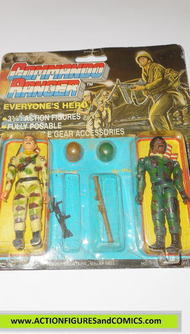 commando ranger demon gi joe COLONEL JIM SGT MIKE 1987 MOC