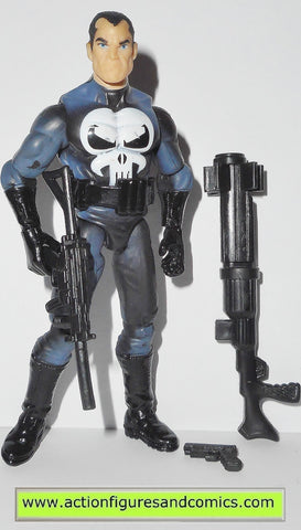 marvel universe PUNISHER series 1 20 black boots 2009 action figure