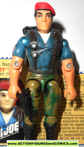 gi joe DUSTY 2000 v4 ARAH a real american hero Complete gijoe g i