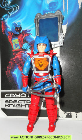 Visionaries CRYOTEK bear 1987 vintage hasbro COMPLETE w FULL CARD action figure