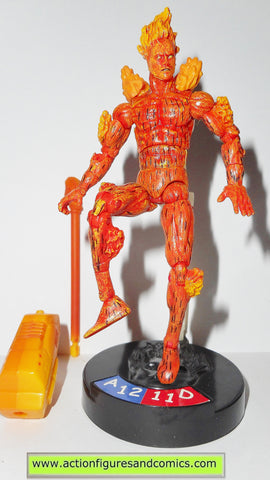 marvel universe HUMAN TORCH legends showdown toy biz action figures