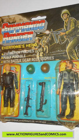 commando ranger demon gi joe GENERAL LEN MARINE SAM 1987 moc