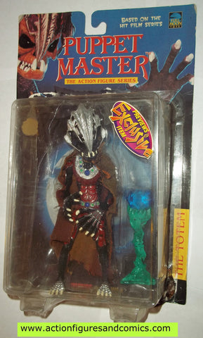 puppet master THE TOTEM full moon toys movie complete or moc mip mib