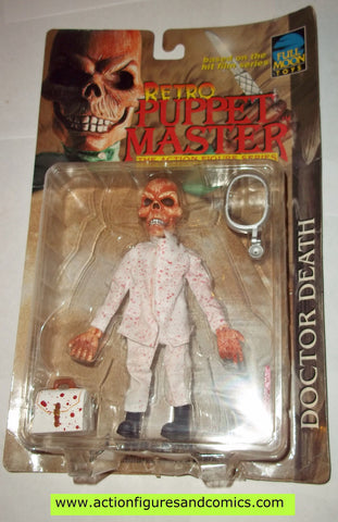 puppet master DOCTOR DEATH RETRO DR full moon toys movie moc