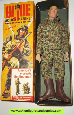 Gi joe ACTION MARINE 12 inch walmart 40th anniversary BLOND hair mib moc mip vintage