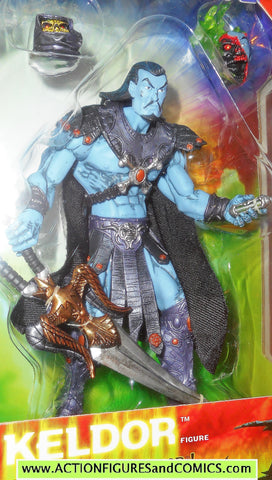 Masters of the Universe KELDOR Skeletor 2002 SDCC comic con exclusive moc mib