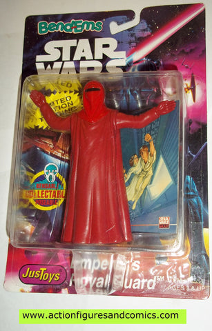 star wars action figures bend-ems EMPEROR'S ROYAL GUARD moc mip mib