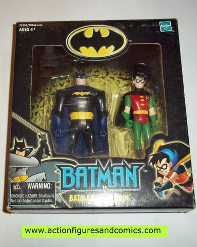 batman animated series BATMAN and ROBIN black suit walmart exclusive mib moc mip
