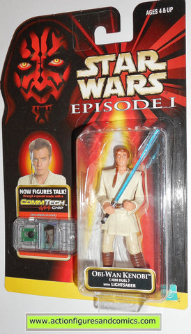 star wars action figures OBI-WAN KENOBI jedi duel episode I 1999 moc mip mib