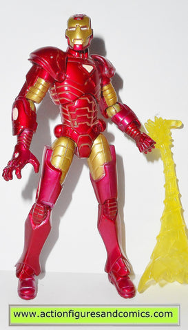 marvel universe IRON MAN 2009 series 1 001 modern action figures