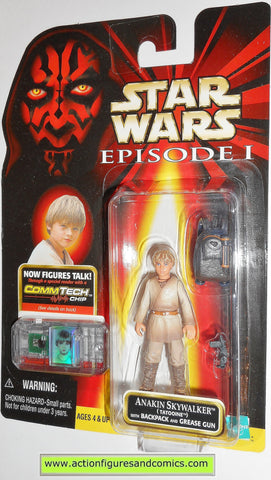star wars action figures ANAKIN SKYWALKER tatooine episode I 1999 moc mip mib
