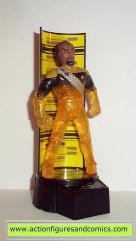 Star Trek WORF transporter series playmates toys action figures