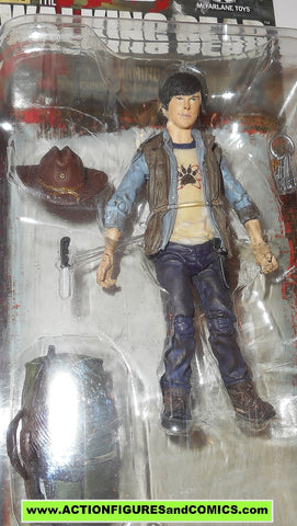 The Walking Dead CARL GRIMES 2013 mcfarlane toys series four moc