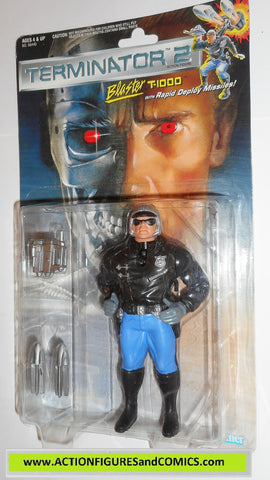 Terminator kenner BLASTER T-1000 movie 2 action figures toys moc mip mib