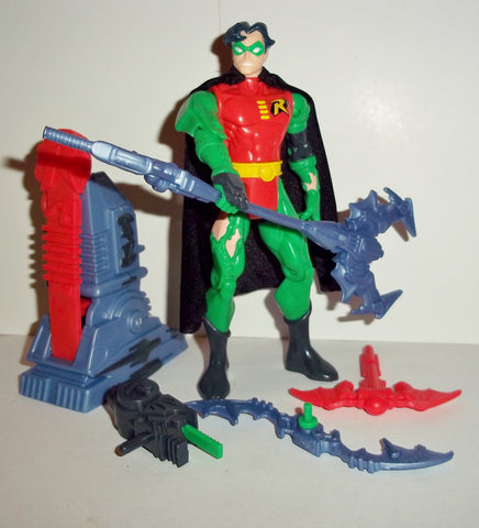 BATMAN knight force ninjas SIDE STRIKE ROBIN complete kenner