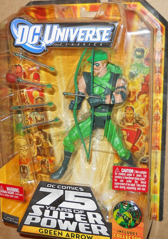 DC UNIVERSE classics 6 inch GREEN ARROW all star wave new moc series mattel
