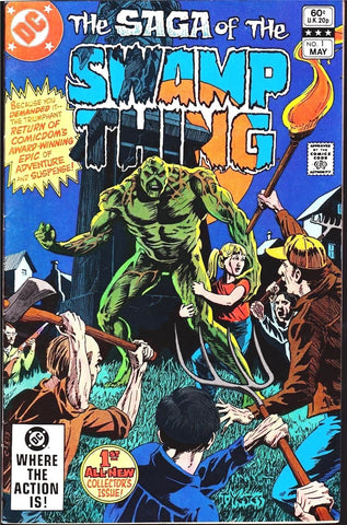 dc comics SWAMP THING # 1 - 171 every single issue!