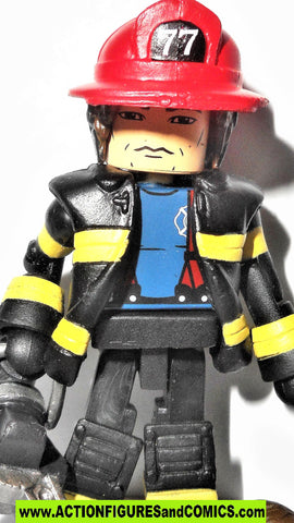 minimates M.A.X. mobile action xtreme FIREMAN FIREFIGHTER max