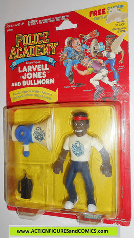 Police academy action figures LARVELL JONES 1988 moc movie #4001