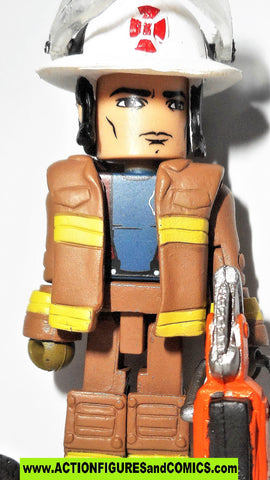 minimates M.A.X. mobile action xtreme FIRE CHIEF FIREFIGHTER max