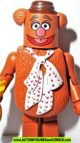 minimates Muppets FOZZIE the BEAR muppet show jim henson