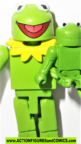 minimates Muppets KERMIT the frog puppet muppet show jim henson