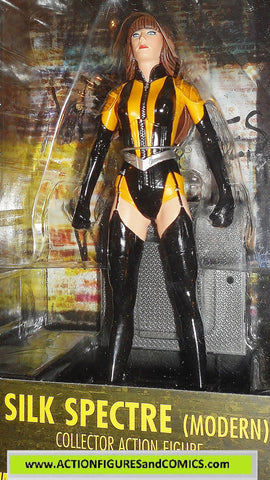 dc direct SILK SPECTRE modern WATCHMEN collectibles universe moc