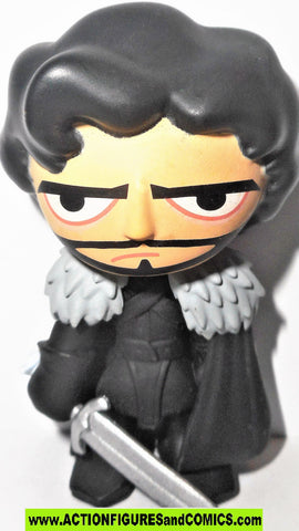 Game of Thrones ROB STARK Funko pop mystery minis black got 2014