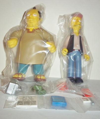 simpsons SINCLAIR & COODER mail away complete playmates wos