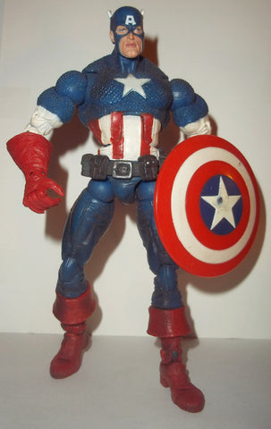 Marvel Legends CAPTAIN AMERICA FACE OFF complete walmart exclusive