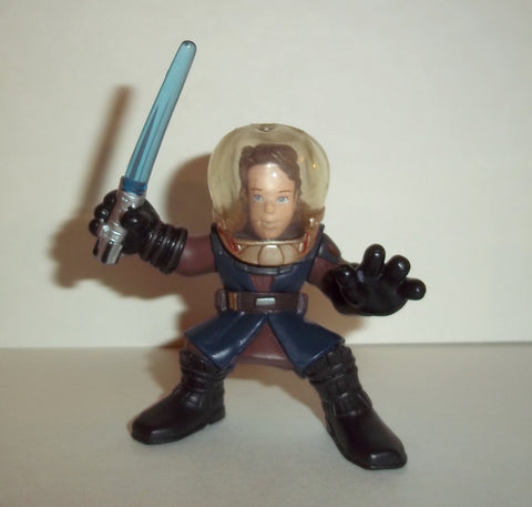 STAR WARS galactic heroes ANAKIN SKYWALKER with breathing helmet complete