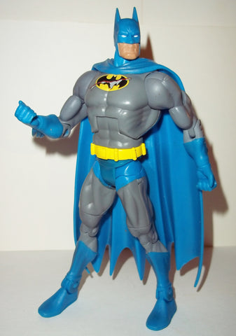 dc universe classics 6 inch BATMAN battle damaged knightfall complete mattel