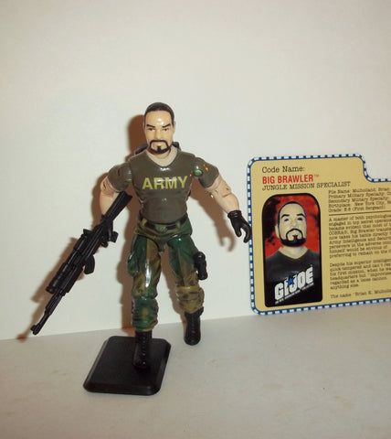 gi joe BIG BRAWLER 2001 ARAH a real american hero Complete
