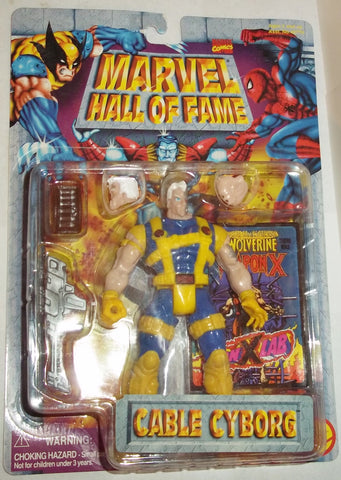 MARVEL hall of fame CABLE CYBORG new moc