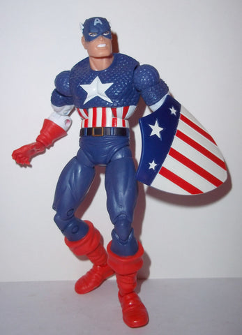 marvel legends CAPTAIN AMERICA queen brood series complete hasbro