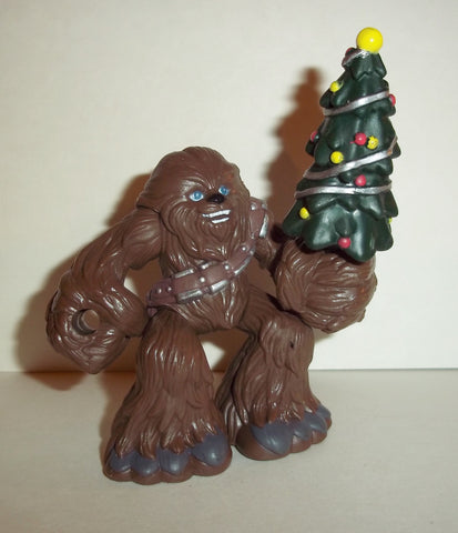 STAR WARS galactic heroes CHEWBACCA christmas special