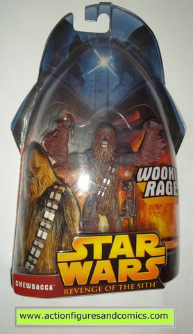 star wars action figures CHEWBACCA 5 2005 revenge of the sith hasbro toys moc mip mib