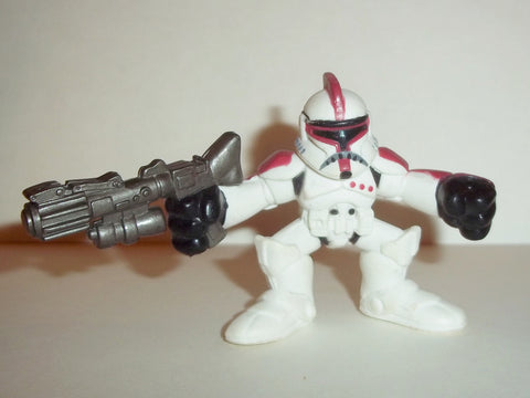STAR WARS galactic heroes CLONE TROOPER red complete