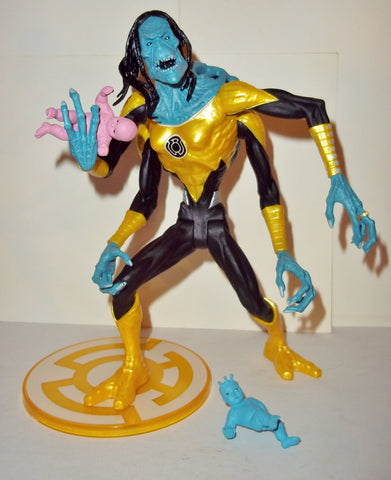 dc direct KRBY blackest night complete sinestro corps collectables