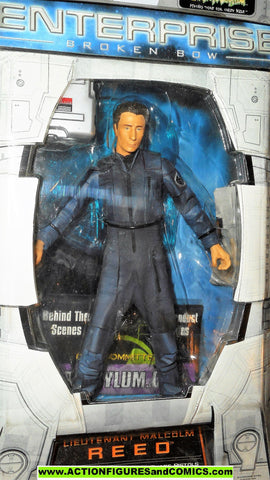 Star Trek Enterprise MALCOLM REED 2002 art asylum action figures moc mib
